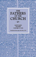 Letters, Volume 1 (1–185) (The Fathers of the Church, Volume 13)
