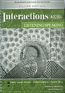 Interactions Access Listening Speaking Teachers Edition Silver