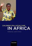 Children's Palliative Care in Africa