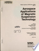 Aerospace Applications of Magnetic Suspension Technology  Part 2