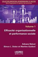 Pdf Efficacité organisationnelle et performance sociale Telecharger