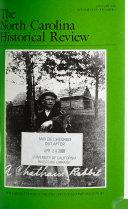 The North Carolina Historical Review Book PDF