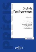 Pdf Droit de l'environnement - 8e éd. Telecharger