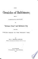 The Chronicles Of Baltimore Book PDF