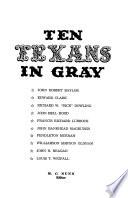Ten Texans in gray