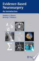 Evidence Based Neurosurgery Book