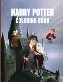 Harry Potter Coloring Book  Fantastic Activity Book  Magical Creatures and Places