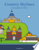 Country Skylines Coloring Book for Kids 1