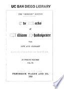 The Works of William Shakspeare: Hamlet ; King John ; King Richard II