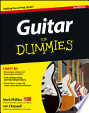 List of Guitar For Dummies E-book