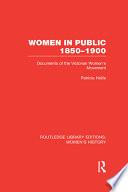 Women In Public 1850 1900