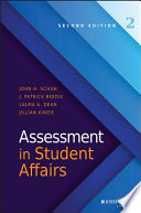 Assessment in Student Affairs Book