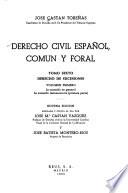 Derecho civil español, común y foral