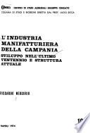 L'industria manifatturiera della Campania