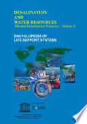 THERMAL DESALINATION PROCESSES    Volume II