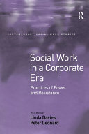 Social Work in a Corporate Era