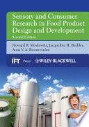 """Sensory and Consumer Research in Food Product Design and Development"" by Howard R. Moskowitz, Jacqueline H. Beckley, Anna V. A. Resurreccion"
