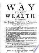 A Way to Get Wealth
