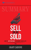 Summary  Sell Or Be Sold