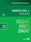 Direito civil 1 : esquematizado® - 8ed
