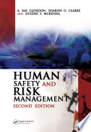 Human Safety And Risk Management Book PDF