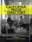 California Prose Directory 2014 Book