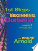 1st Steps for a Beginning Guitarist Book