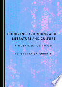 Children S And Young Adult Literature And Culture