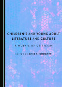 Children's and Young Adult Literature and Culture