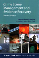 Crime Scene Management And Evidence Recovery Book PDF