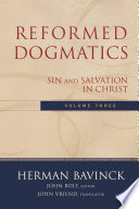 Reformed Dogmatics Volume 3