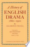 A History of English Drama 1660-1900: Volume 5, Late Nineteenth Century Drama 1850-1900 Pdf/ePub eBook