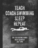 Teach Coach Swimming Sleep Repeat