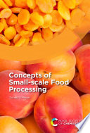 Concepts of Small scale Food Processing Book