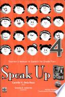 Speak Up 4 Teacher S Manual1st Ed 2007 Book