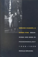 Edmund Husserl and Eugen Fink