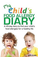 My Child s Food Allergy Diary