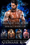 Order of the Blade Boxed Set  Books 1 3  Book PDF