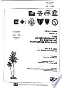 Proceedings - World Conference on Continuing Engineering Education