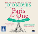 Paris for one and other stories  Spoken Word   MP3 CD