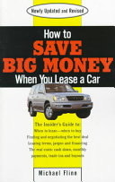How to Save Big Money When You Lease a Car