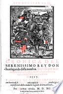 Cronica del ... Rey Don Iuan segundo, etc. (Generaciones de los reyes. Corregida por ... L. Galindez de Carauajal.).