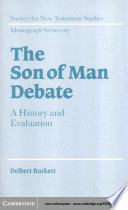 The Son of Man Debate Book