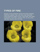 Types of Fire Book