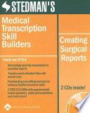 Stedman s Medical Transcription Skill Builders Book