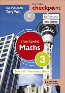 Books - Checkpoint Mathematics Teachers Resource Book 3 | ISBN 9781444143942