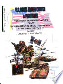 U S  Army Armor Center   Fort Knox  Northern Training Complex Book