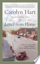 Letter from Home Carolyn G. Hart Cover