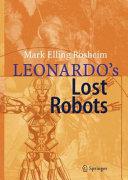 Leonardo ́s Lost Robots [Pdf/ePub] eBook