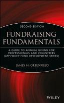 Fundraising Fundamentals Book